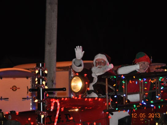 Santa arrives in Bethel on Dec. 2 as part of the village's annual Down Home Christmas celebration.