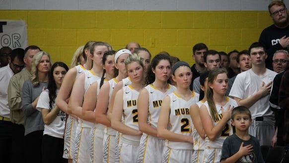 The Murphy girls basketball team.