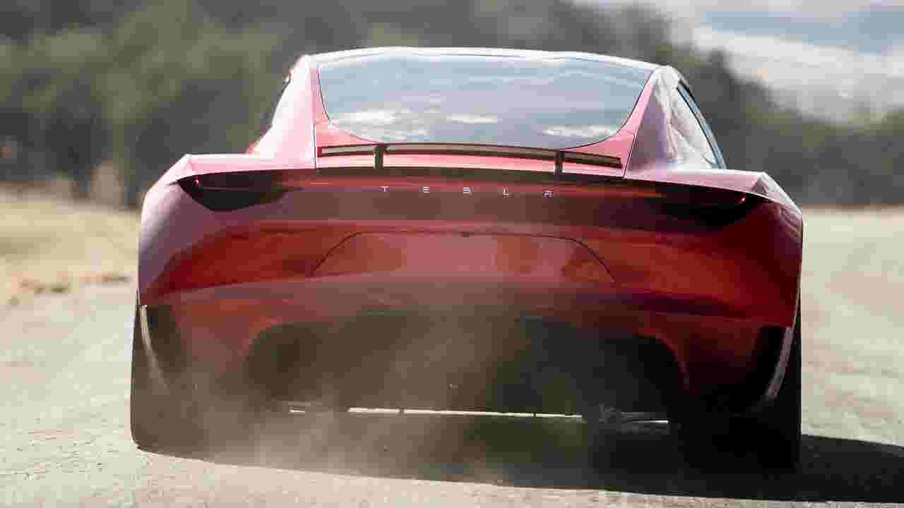 Tesla Flying Car Elon Musk Teases Special Upgrade Of Roadster Supercar