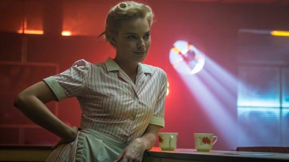 In 'Terminal,' Annie (Margot Robbie) is a waitress