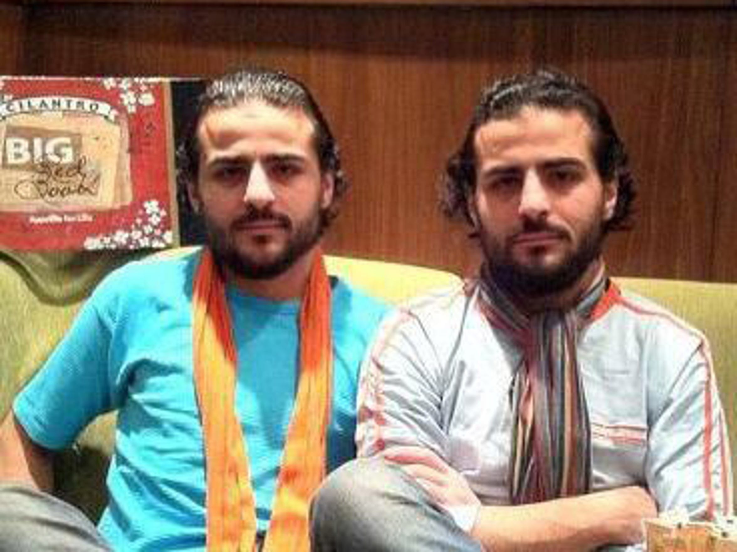 Filmmakers The Malas Twins are Syrian refugees living
