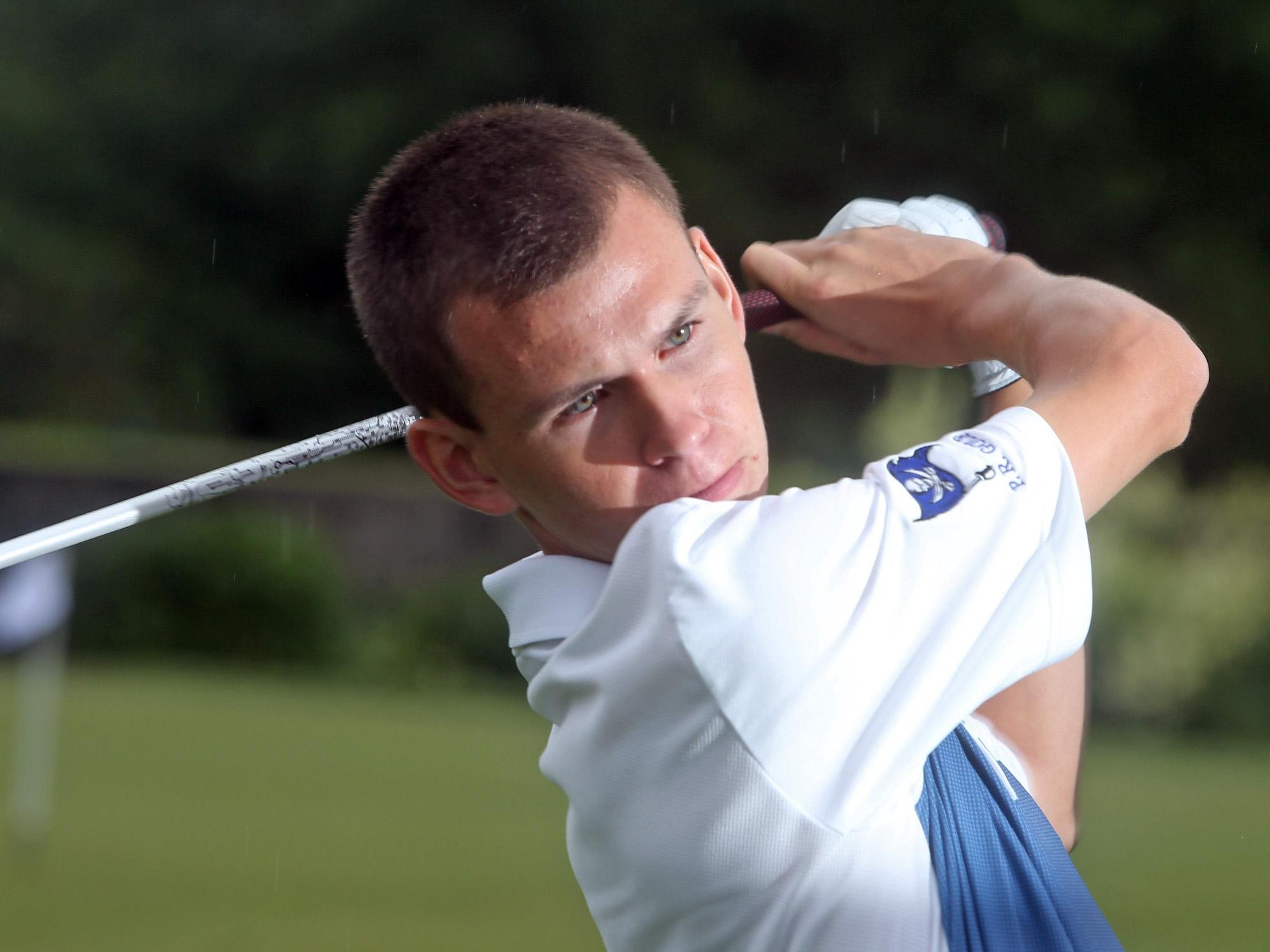 Glenn Watson, who just graduated from Pearl River High School, is the Rockland County Golfer of the year. He was photographed June 27, 2015 at Rockland Country Club.