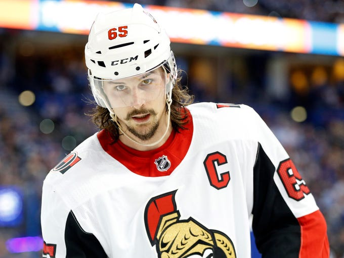 The San Jose Sharks acquired defenseman Erik Karlsson