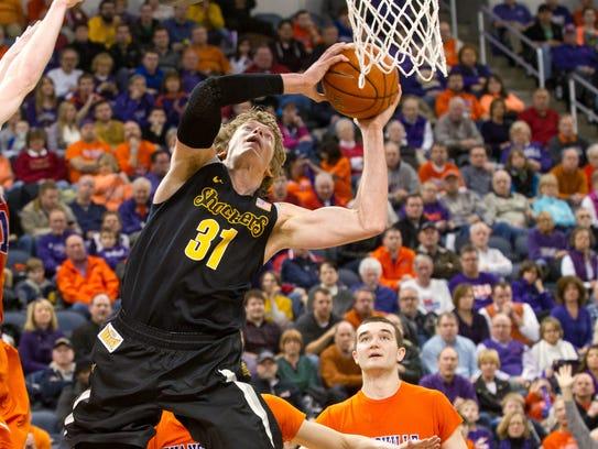AP Wichita St Evansville Basketball