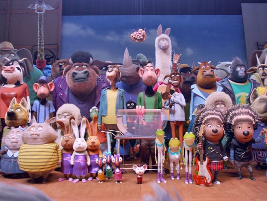 """The cast of """"Sing."""""""