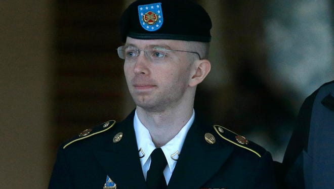 Army Pvt. Chelsea Manning pictured here as Bradley Manning in 2013.
