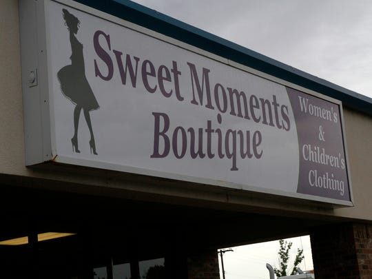 The Sweet Moments Boutique store opened for business Friday at the Westside Plaza  in Aztec.