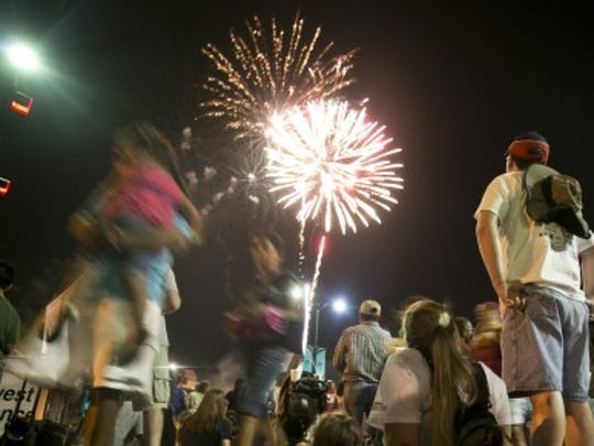 Get the jump on fireworks with the Arizona Celebration of Freedom. Beer gardens, an art walk, music, performers and inflatables are part of the fun.