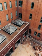 The courtyard of the Grace Museum August 12, 1991 during