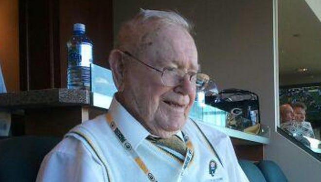 Robert Parins, former Green Bay Packers team president, in 2013.