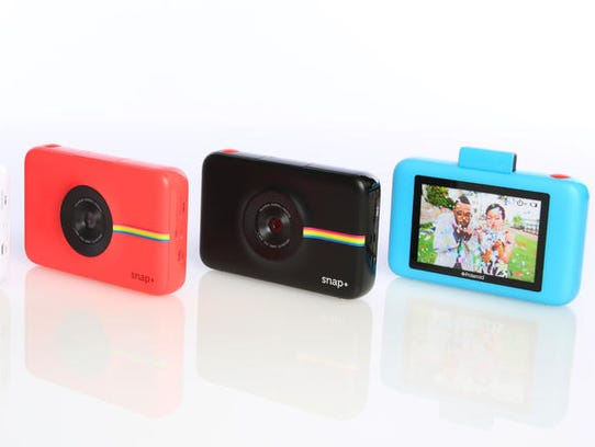 The Polaroid Snap+ digital camera.