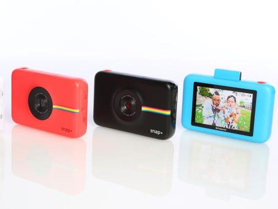 The Polaroid Snap+ digital camera.