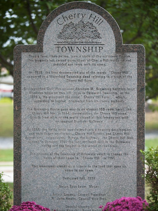 Cherry Hill monument