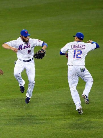 Apr 22, 2015; New York City, NY, USA;  New York Mets