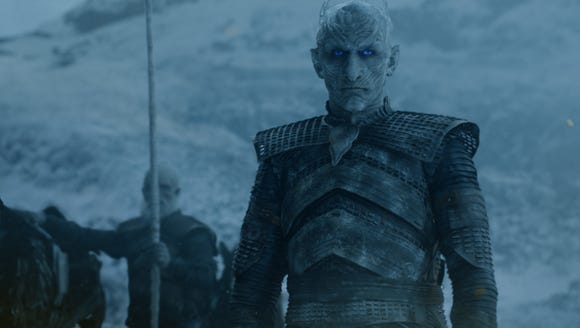 The Night King on 'Game of Thrones.'