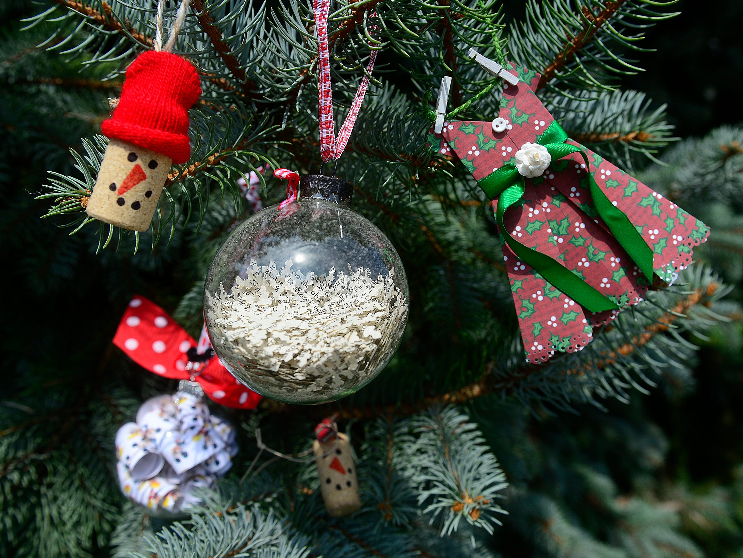 You'll make three ornaments at our  Nov. 5 workshop. Only 30 slots available. Register NOW!