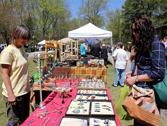 This year celebrates the 20th anniversary of the Festival of Fine Craft at WheatonArts.