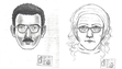 Law enforcement circulated a composite sketch of the