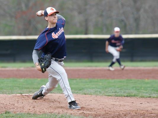 Brandon Neeck - Horace Greeley @ Fox Lane Baseball