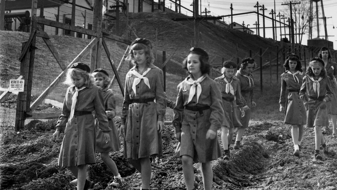 manhattan project park to hold girl scouts day