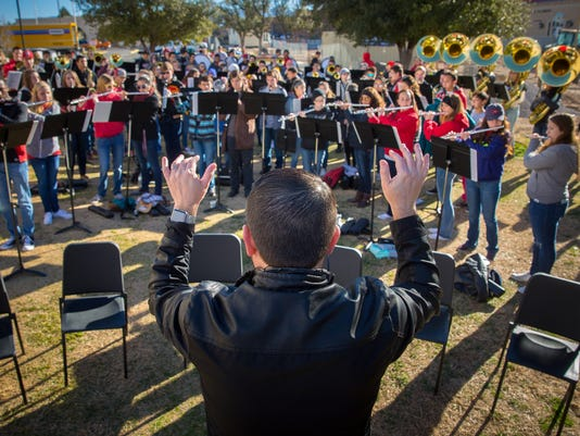 Centennial High School Band Play All Day