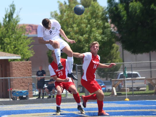 Park City topped Snow Canyon 1-0 in the 4A state playoffs.