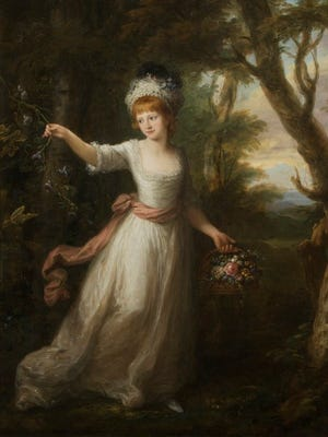 Which local town was named for this English countess?