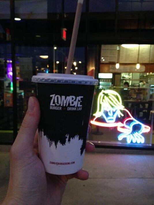 zombie s'more shake