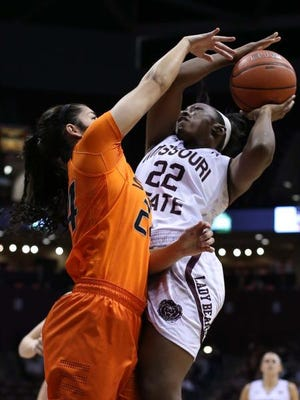 Tyonna Snow led the way for the Lady Bears, but MSU dropped the game to Maine.