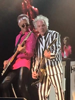 Cherry Forever (Greg Eidem) and Brynn Arens perform during Flipp's first return show at First Avenue in Minneapolis on July 1, 2016.