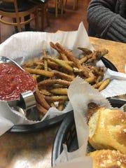 Vittorio's fried zucchini fries served with marinara.