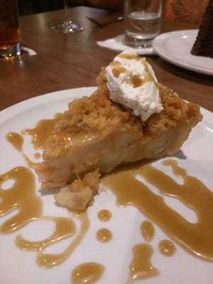 Sean Ryan Pub's apple crumble.