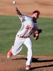 Kimberly starting pitcher Cade Hunstiger delivers in