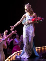 Miss Madison Capital City McKenna Collins wins the title of Miss Wisconsin Saturday during the Miss Wisconsin scholarship pageant at the Alberta Kimball Auditorium June 17, 2017.