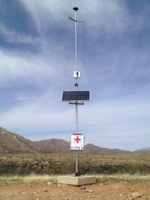 Rescue Beacons are designed to be seen from far distances to help save lives.