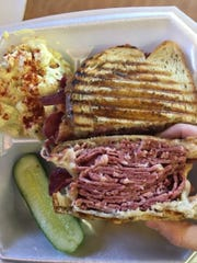 Polito's New York Deli's Reuben had two inches of corned