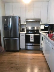 Renovations for the kitchen thanks to Lee BIA Builders Care and Lennar Homes.