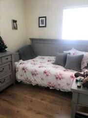 Missy Shapp's bedroom also was remodeled.