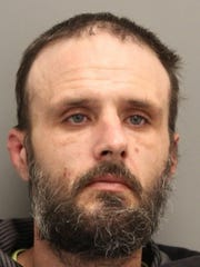 Eric Huffstutler of Frederica was arrested in a traffic stop in Frederica on Jan. 15, 2018, and police found drug paraphernalia and a duffel bag in the rear seat containing ammo, which he cannot have as a convicted felon, according to court documents.