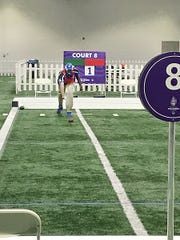 Rehoboth Beach Special Olympics athlete Reggie Miller participates in Bocce during the USA Games, held July 1-6 in Seattle. Miller won a bronze medal in singles and took fourth place in doubles. He also was a member of the Delaware team that finished in fifth place in its division.