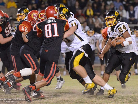 Enterprise's Izzy Matthews picked up his fifth full-ride offer this week.(BILL HUSA/CHICO ER)