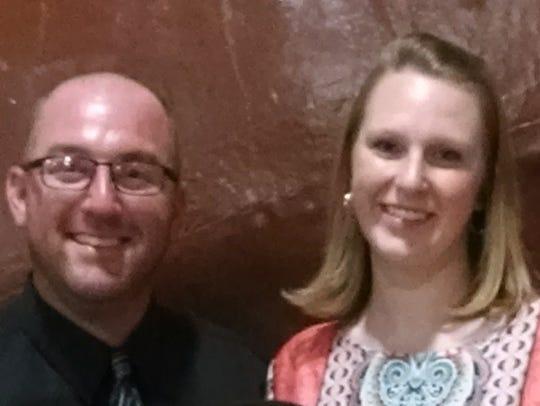 Chris and Lisa Moore