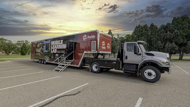 Pueblo Community College's new mobile lab enables companies to provide customized training to employees on site, saving time and money.