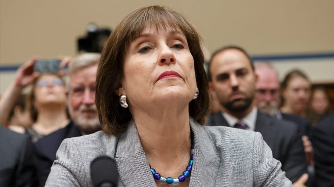 This May 22, 2013 file photo shows Internal Revenue Service (IRS) official Lois Lerner on Capitol Hill in Washington. The IRS says it has lost a trove of emails to and from a central figure in the agency's 'tea party' controversy.
