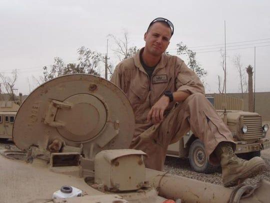 """Mark Anthony """"Wojo"""" Wojciechowski, of Union Township,"""