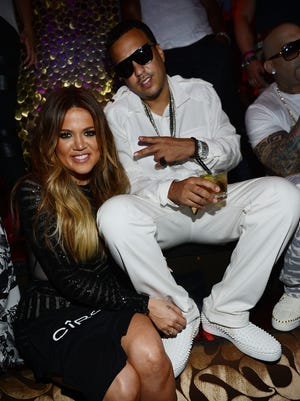 Khloe Kardashian celebrated her 30th birthday with French Montana at TAO Nightclub on July 4 in Las Vegas.