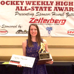 Ladywood's Hayward named co-Miss Hockey