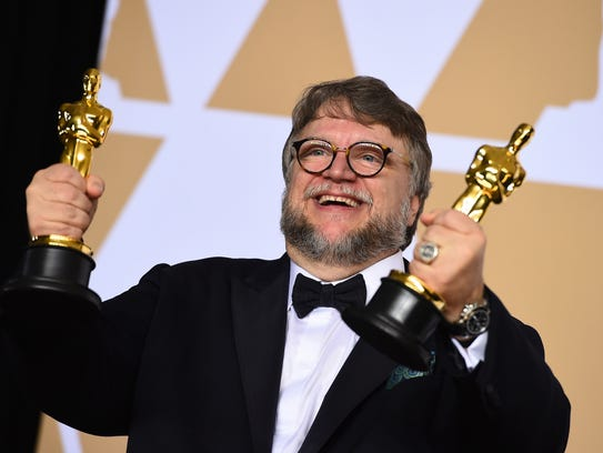 Guillermo del Toro, winner of the awards for best director