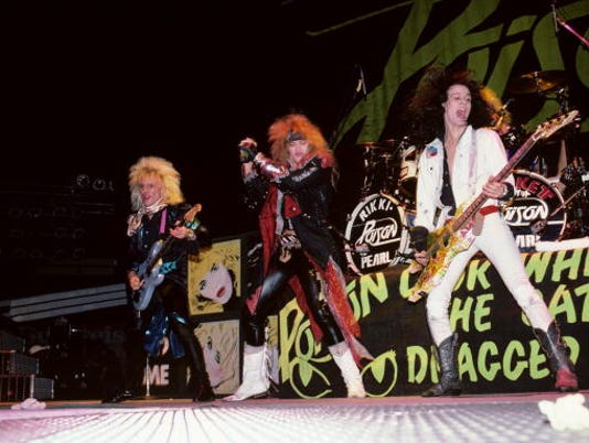 Photo of POISON and CC DEVILLE and Bret MICHAELS and Bobby DALL