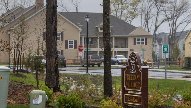 Freedom Village which is partially completed  in the North Dover section of Toms River on April 4, 2016